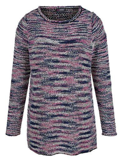 MIAMODA Pullover hinten etwas länger geschnitten als vorne