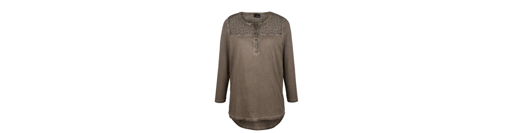 MIAMODA Shirt aus reiner Baumwolle Händler Online Günstig Kaufen Billigste Online Steckdose Reihenfolge Liefern iv2uQnrz