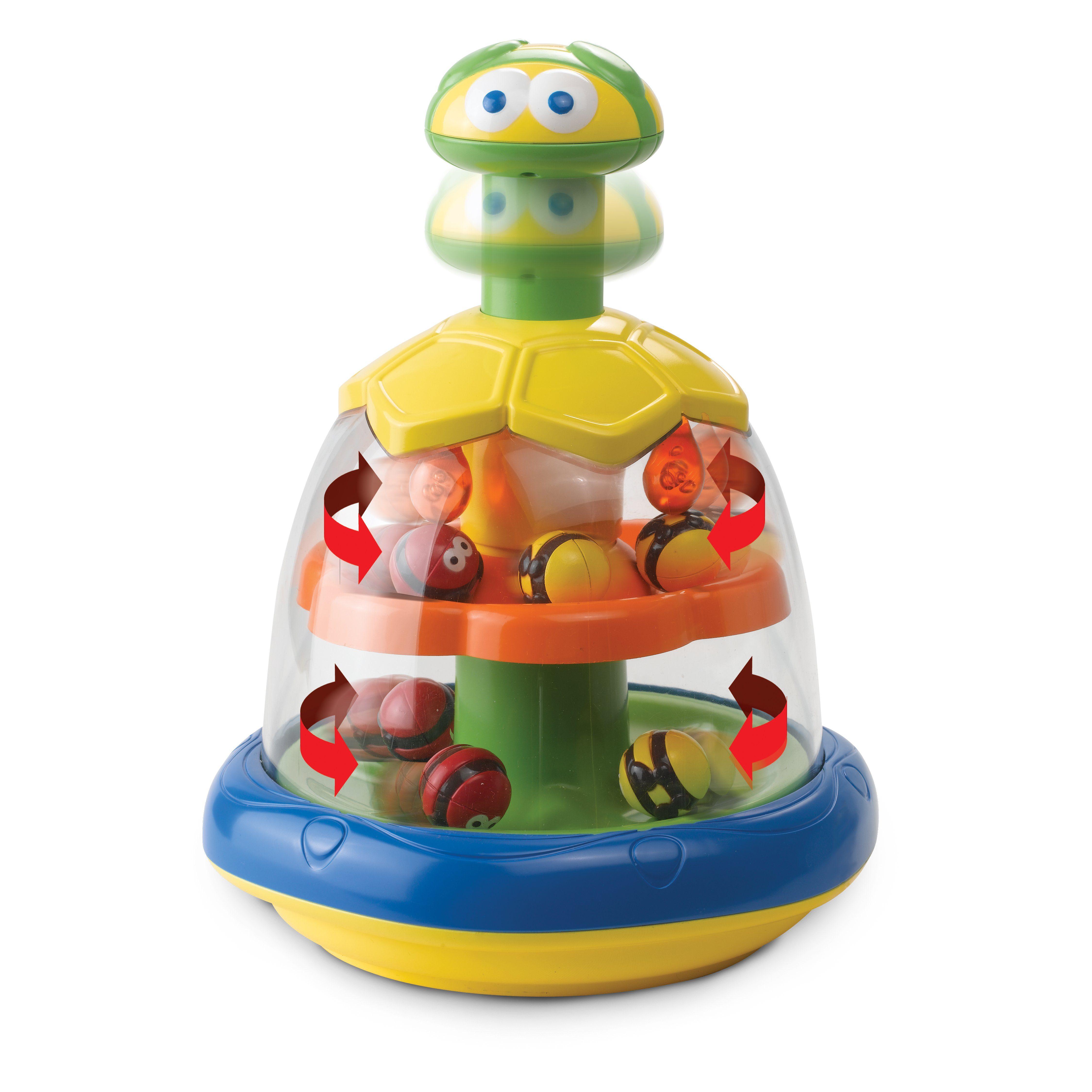 Millennium Batterieloser Kinderkreisel für Kleinkinder & Babys »Spinning Bees M447«