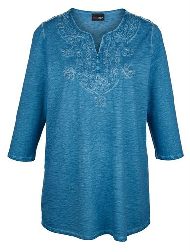 Miamoda Long Shirt Made Of Pure Cotton