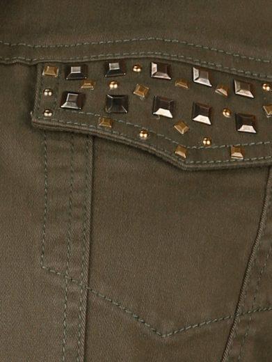 MIAMODA Jeansjacke mit Nieten