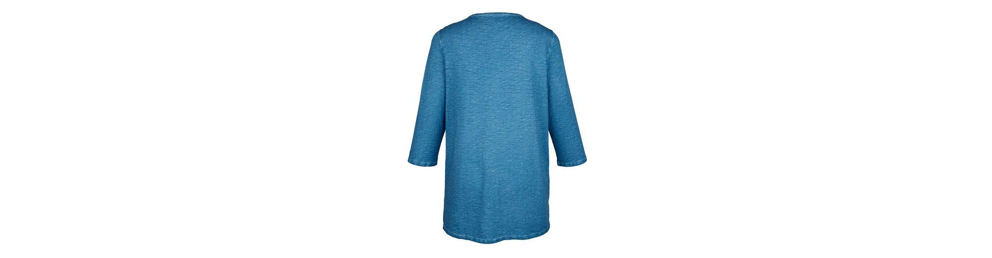 MIAMODA Longshirt aus reiner Baumwolle Spielraum Angebote 2018 Rabatt Outlet-Store Marktfähig Zu Verkaufen Angebot Zum Verkauf XleSxV4