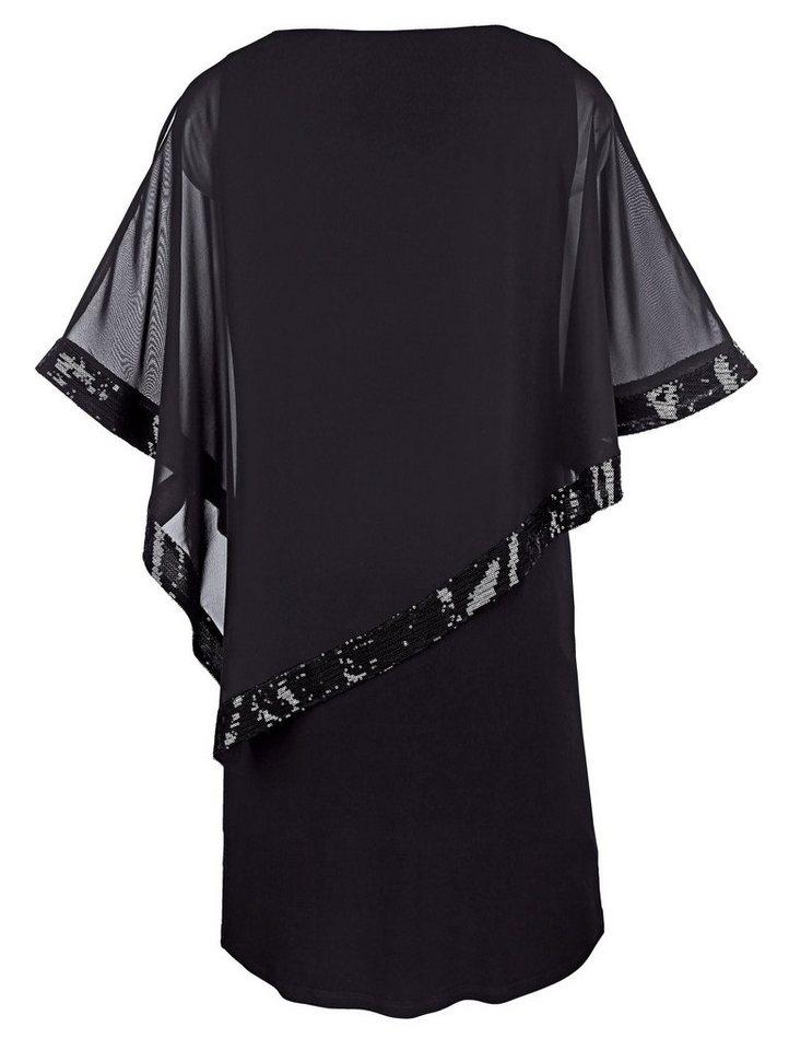 miamoda kleid mit pailletten verziert kaufen  otto
