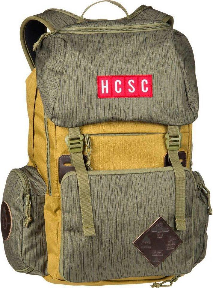 Burton HCSC Shred Scout Pack Cascade Green - Laptoprucksack - broschei