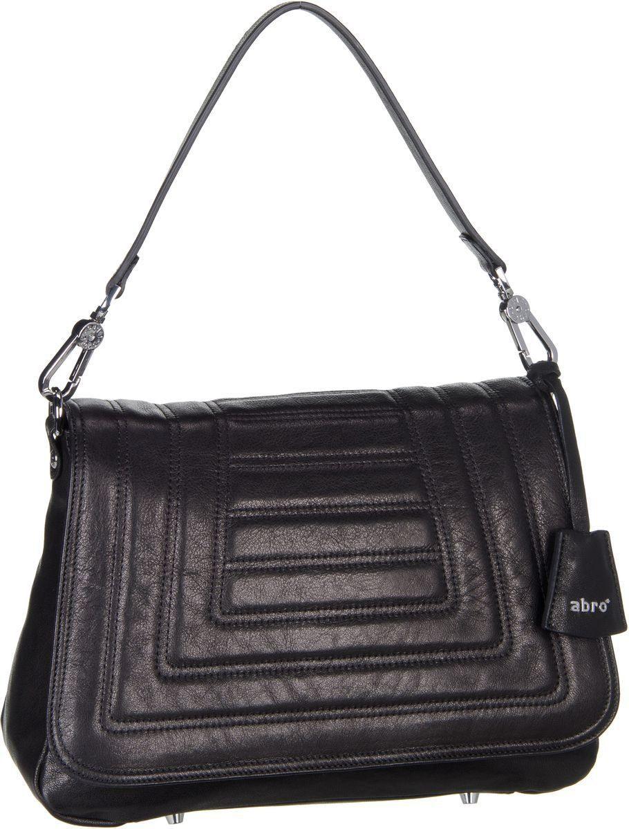 Abro Handtasche - black/nickel