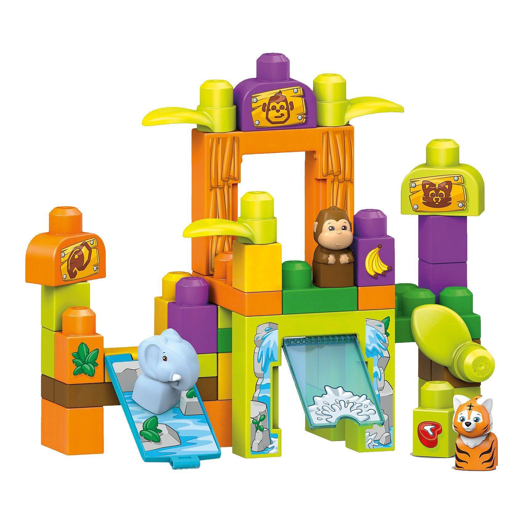 Mattel® Mega Bloks Safarifreunde-Zoo
