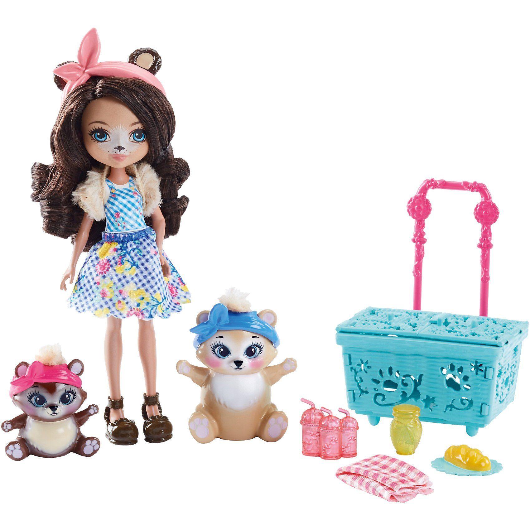 Mattel® Enchantimals Themenpack Bären-Picknick