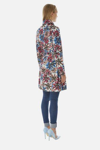 Yumi Trenchcoat Isla, mit floralem Muster
