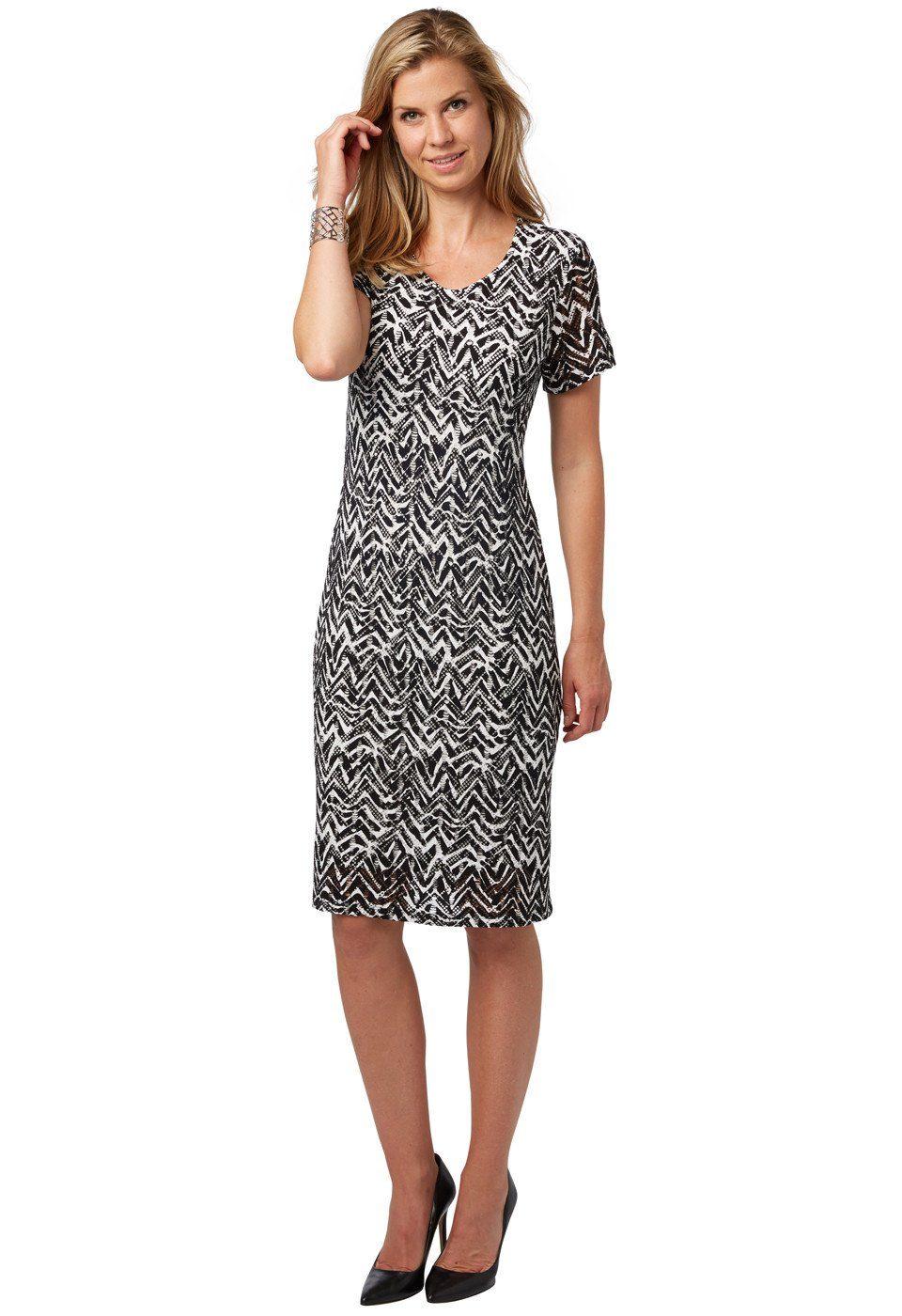 Bonita Strukturiertes Kleid - broschei