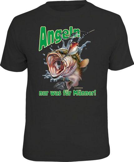 Rahmenlos T-Shirt »Angeln. Nur was für Männer!«