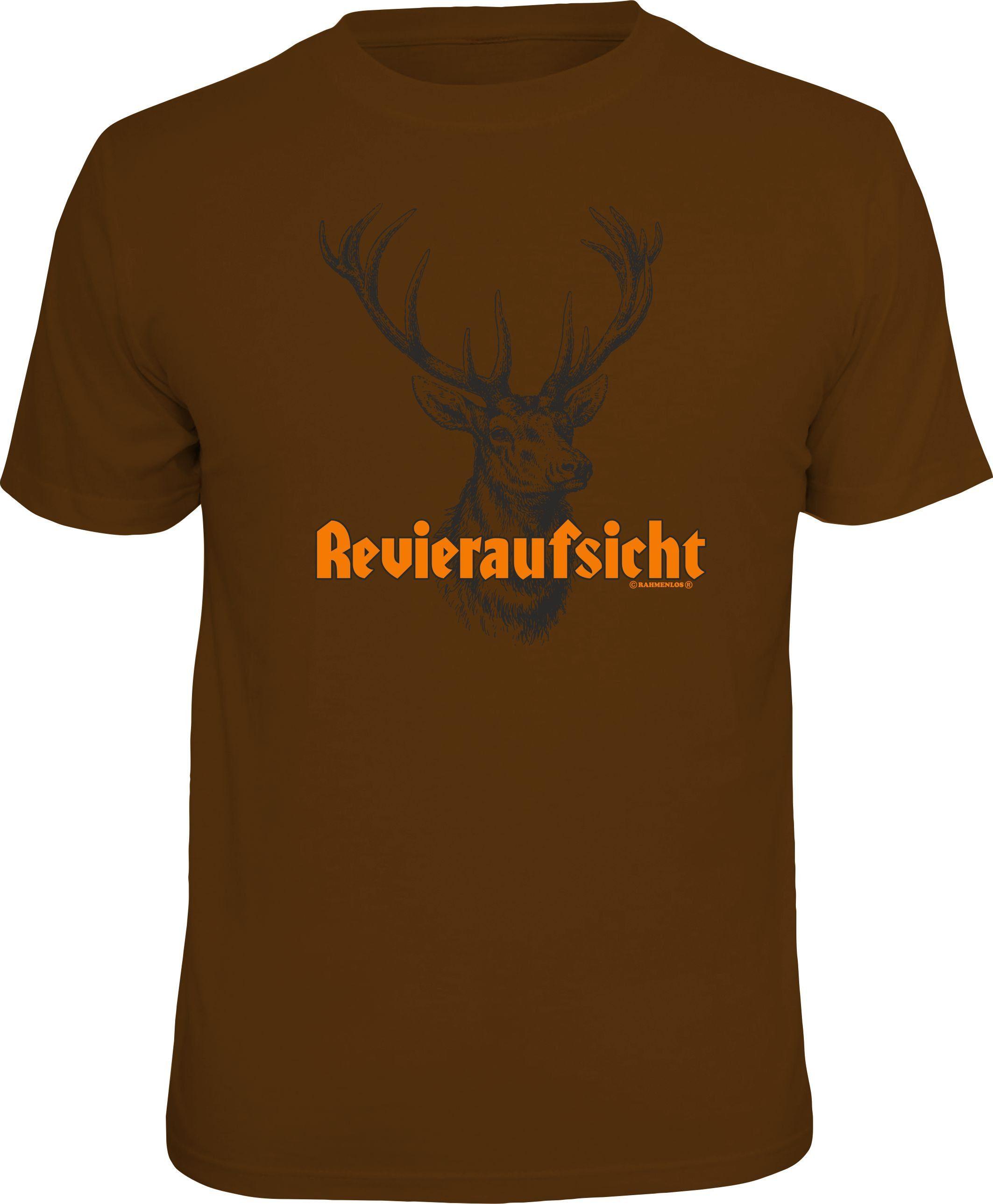 Rahmenlos T-Shirt »Revieraufsicht«