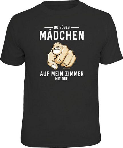 Mein « Zimmer Schwarz Dir »du Frontprint T shirt Mit Böses MädchenAuf Rahmenlos 7b6gyf
