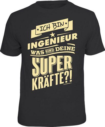 Rahmenlos T-Shirt »Ich bin Ingenieur - was sind deine Superkräfte?«