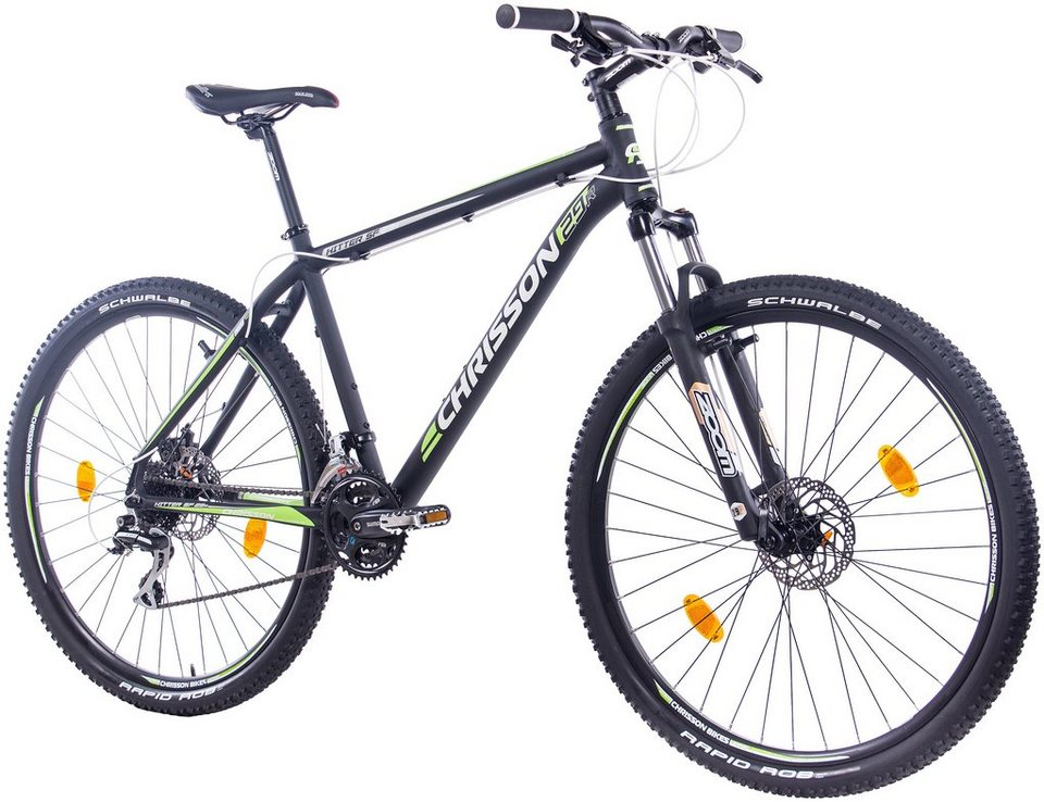 chrisson mountainbike hitter 29 zoll 24 gang. Black Bedroom Furniture Sets. Home Design Ideas