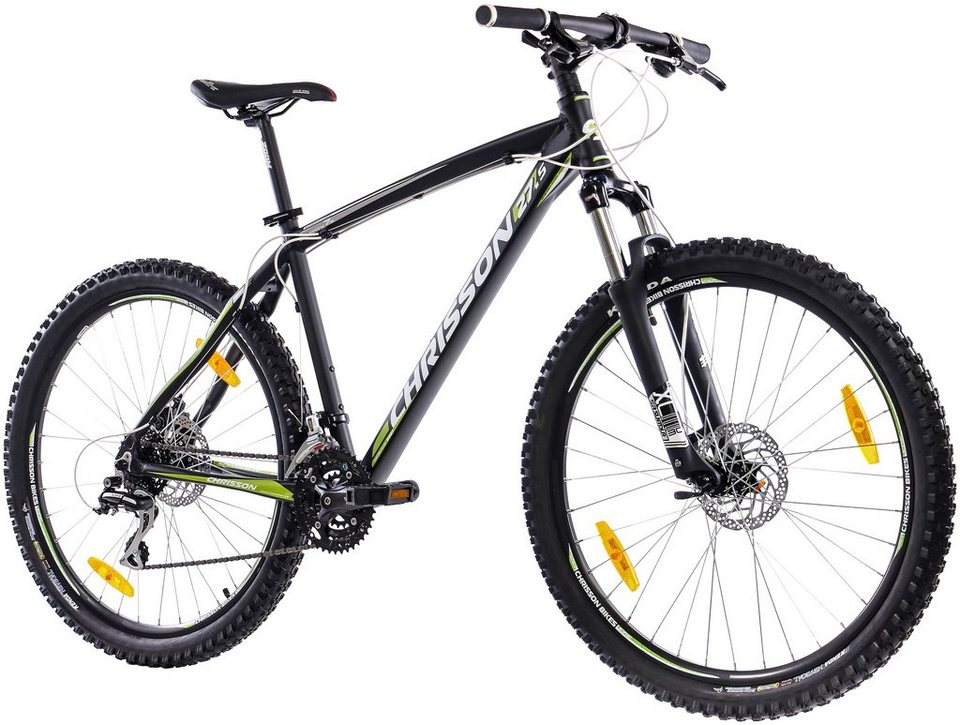 chrisson mountainbike alloy 27 5 zoll 24 gang. Black Bedroom Furniture Sets. Home Design Ideas