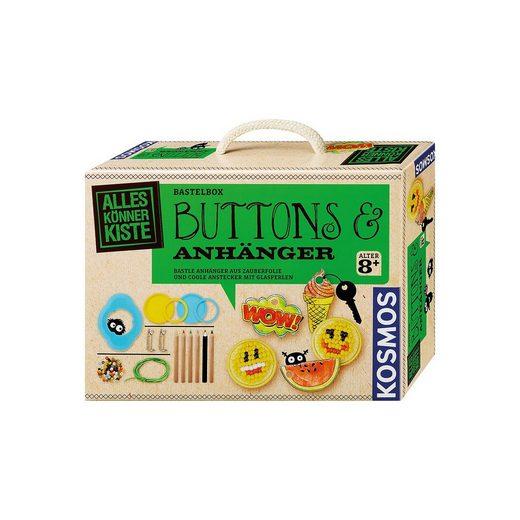 Kosmos Bastelbox Buttons & Anhänger