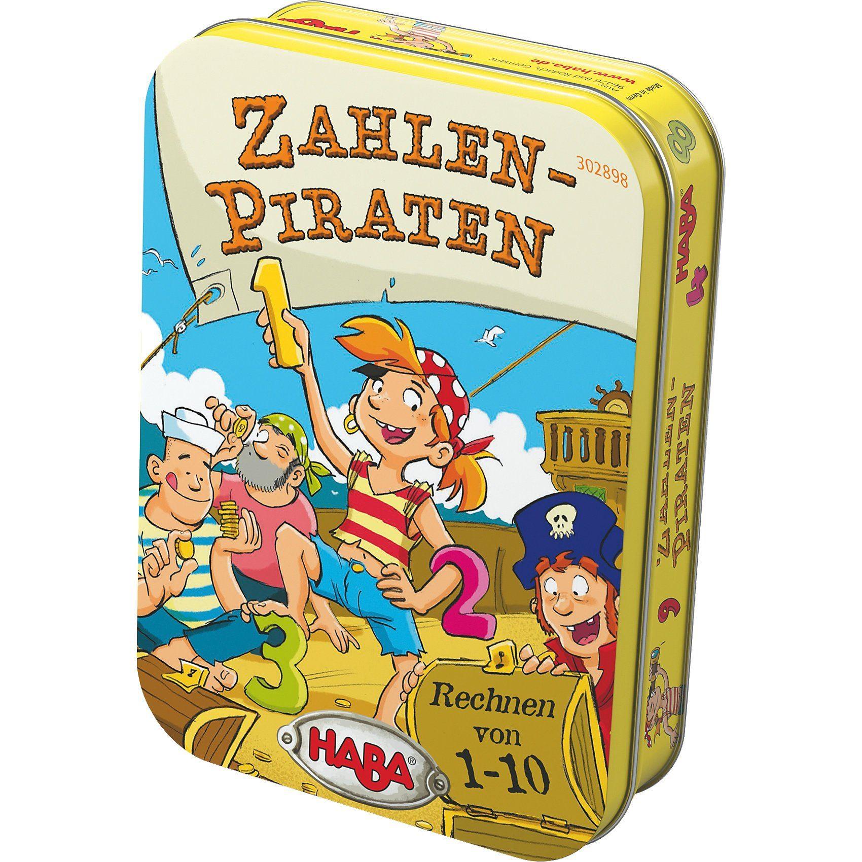 Haba Dosenspiel - Zahlen-Piraten