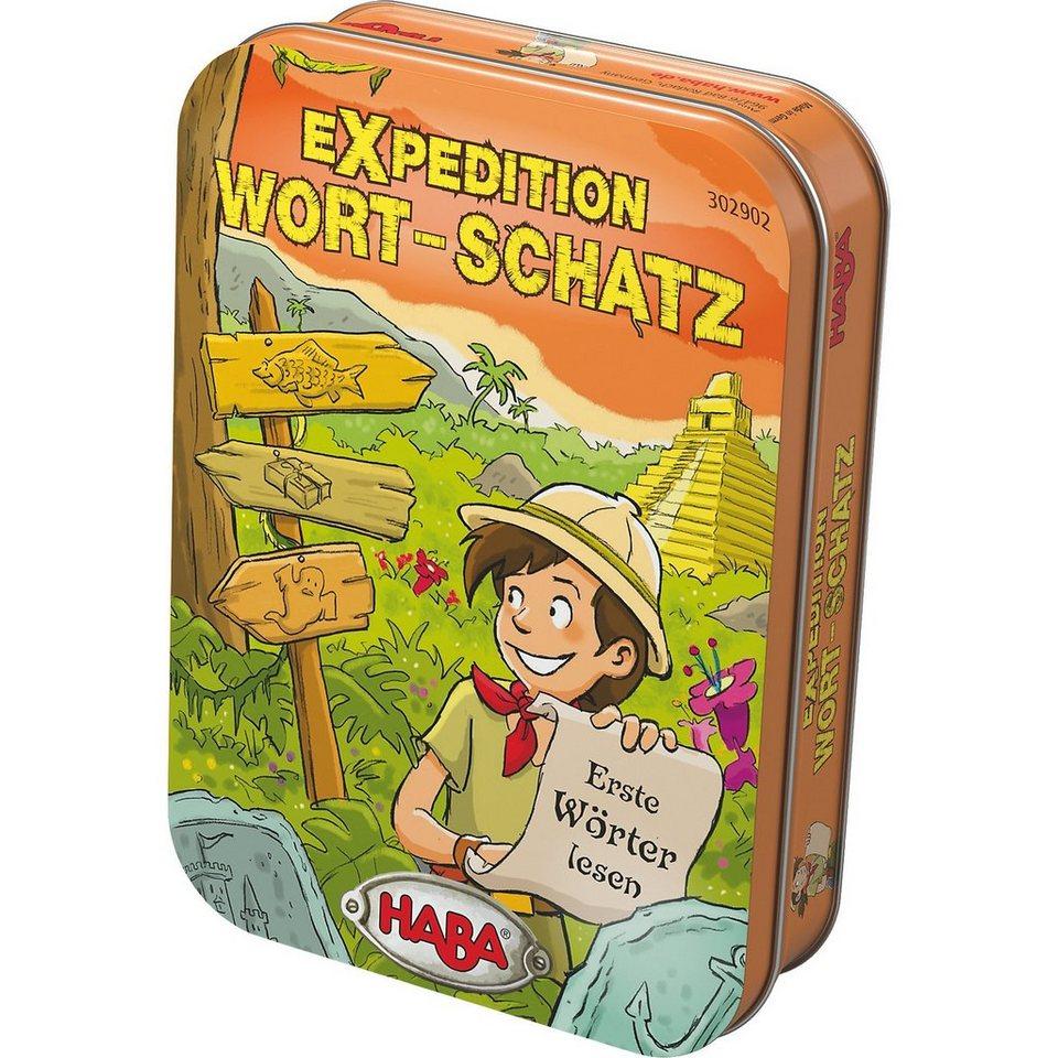 Haba Dosenspiel - Expedition Wort-Schatz kaufen