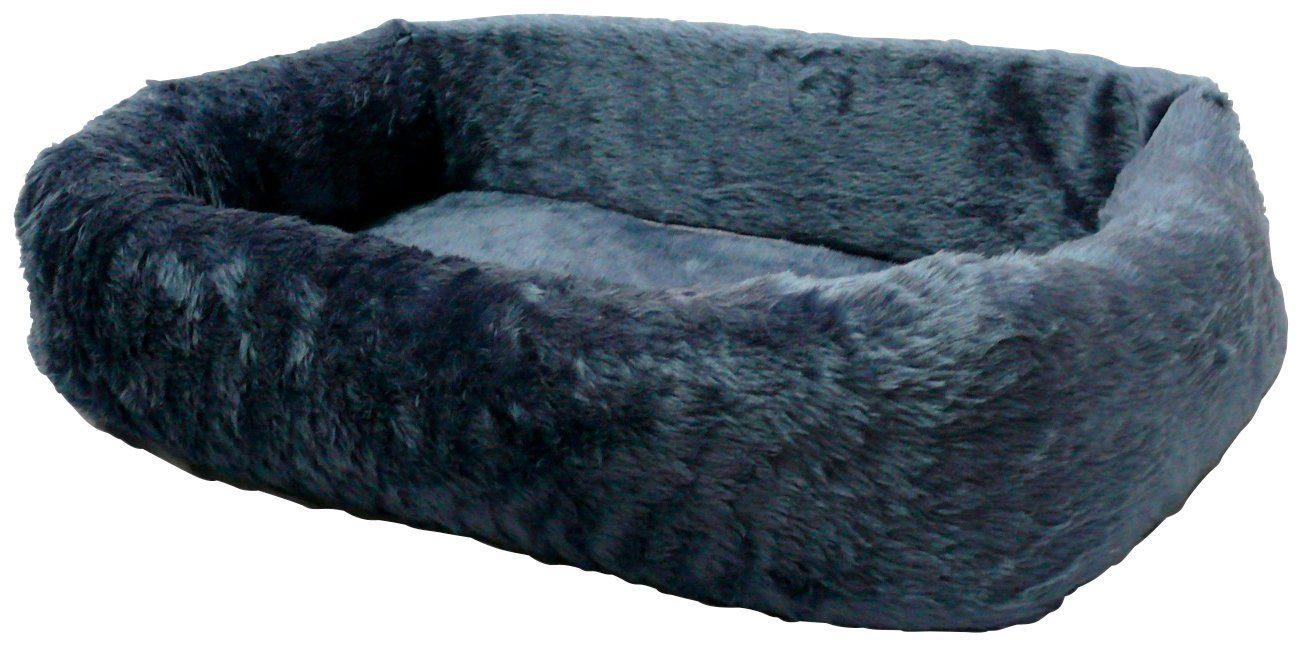SILVIO DESIGN Hundebett und Katzenbett »de Luxe 75«, B/L/H: 75/45/17 cm, blau