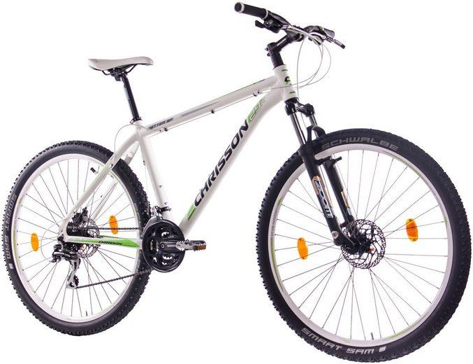 CHRISSON Mountainbike »HITTER«, 29 Zoll, 24 Gang, Scheibenbremsen