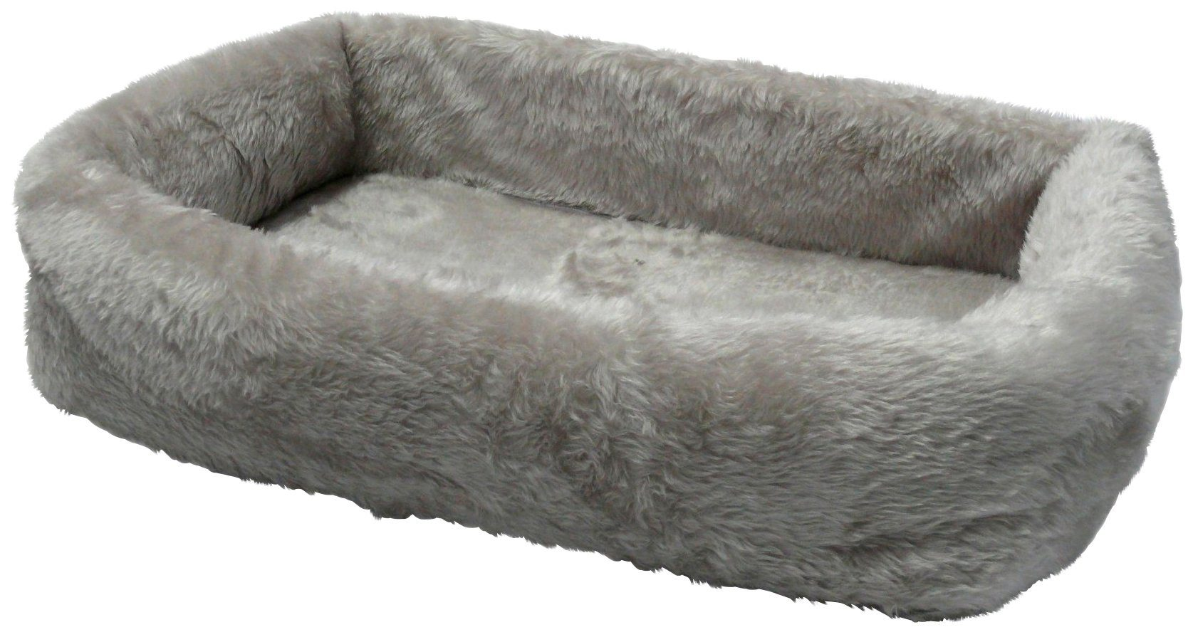 SILVIO DESIGN Hundebett und Katzenbett »de Luxe 55«, B/L/H: 55/35/15 cm, grau