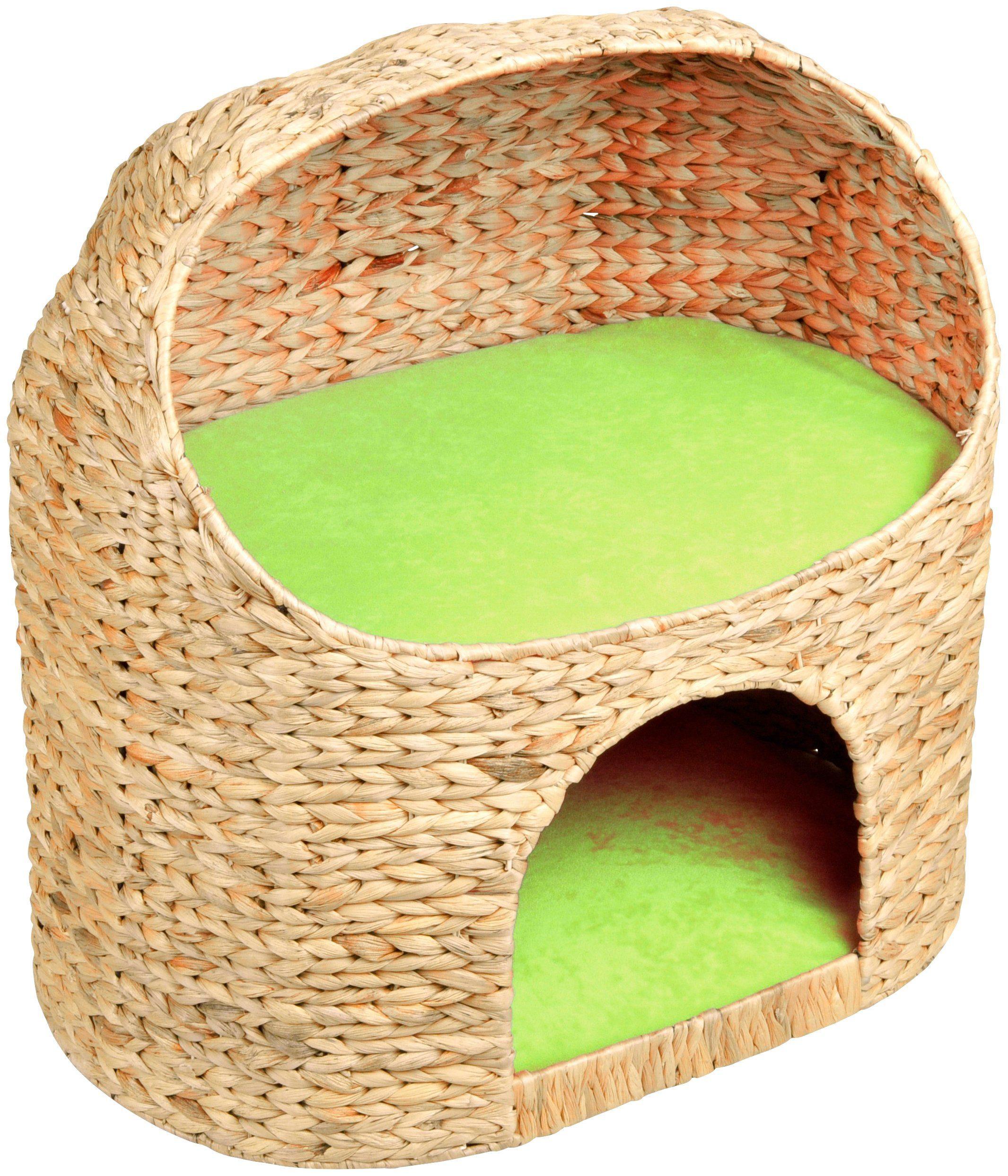 SILVIO DESIGN Katzenhöhle »Marvin«, B/L/H: 54/39/55 cm, grün