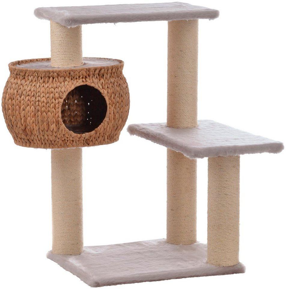 silvio design kratzbaum cestino b t h 50 60 101 cm grau online kaufen otto. Black Bedroom Furniture Sets. Home Design Ideas