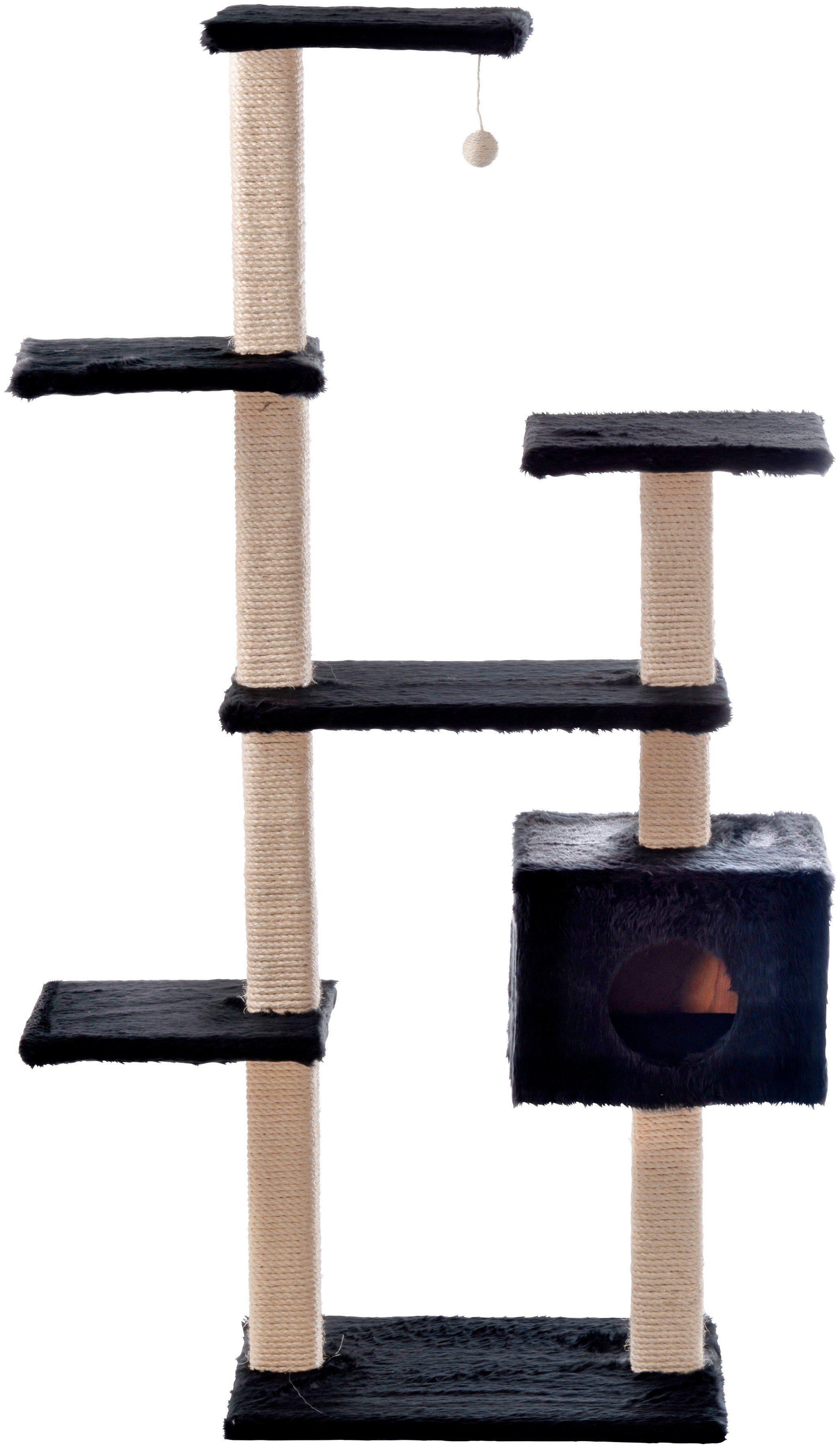 SILVIO DESIGN Kratzbaum »Roxy«, B/T/H: 110/50/175 cm, schwarz