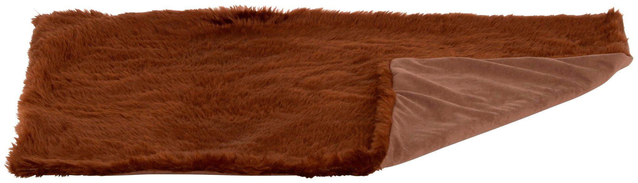 SILVIO DESIGN Hunde-Decke »Ruby Gr. 1«, BxL: 84x54 cm, braun