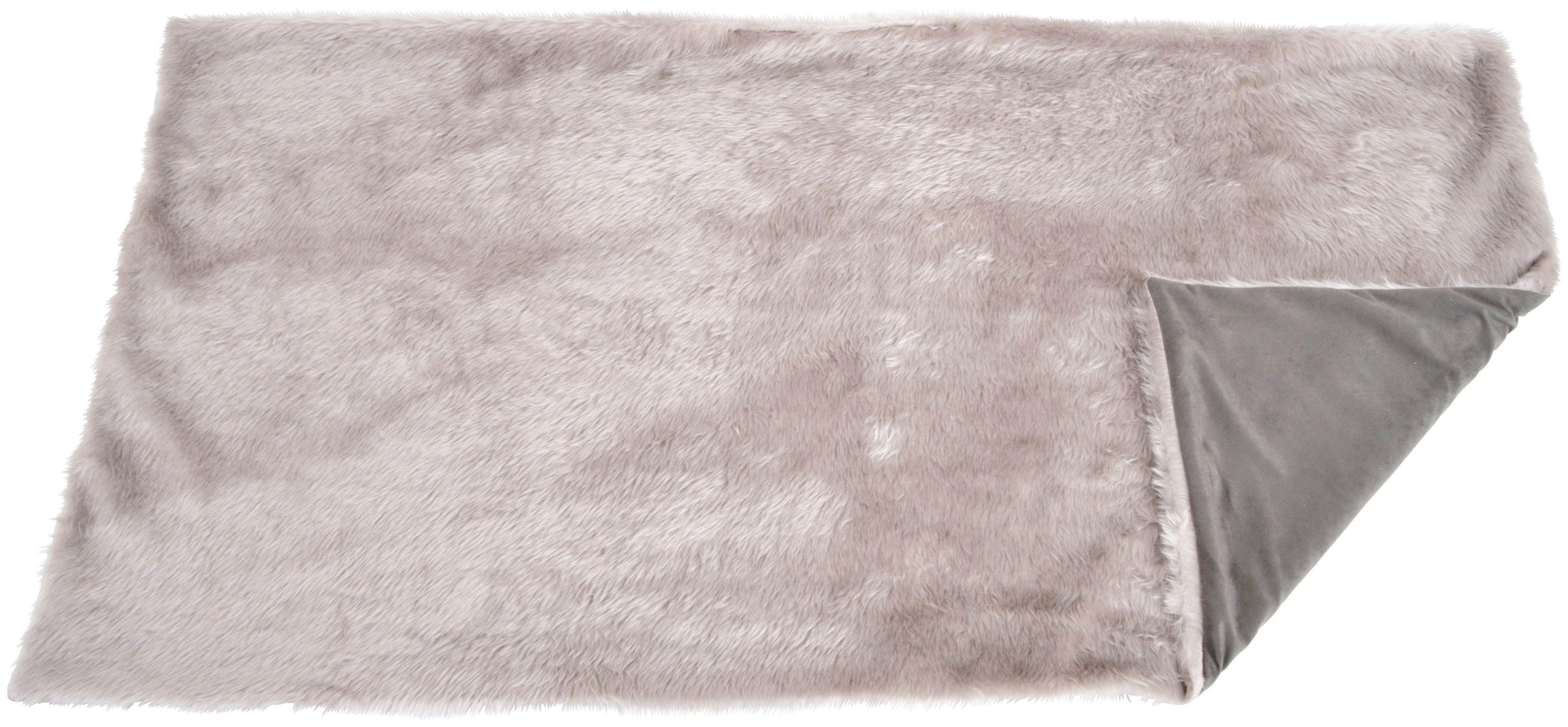 SILVIO DESIGN Hunde-Decke »Ruby Gr. 1«, BxL: 84x54 cm, grau