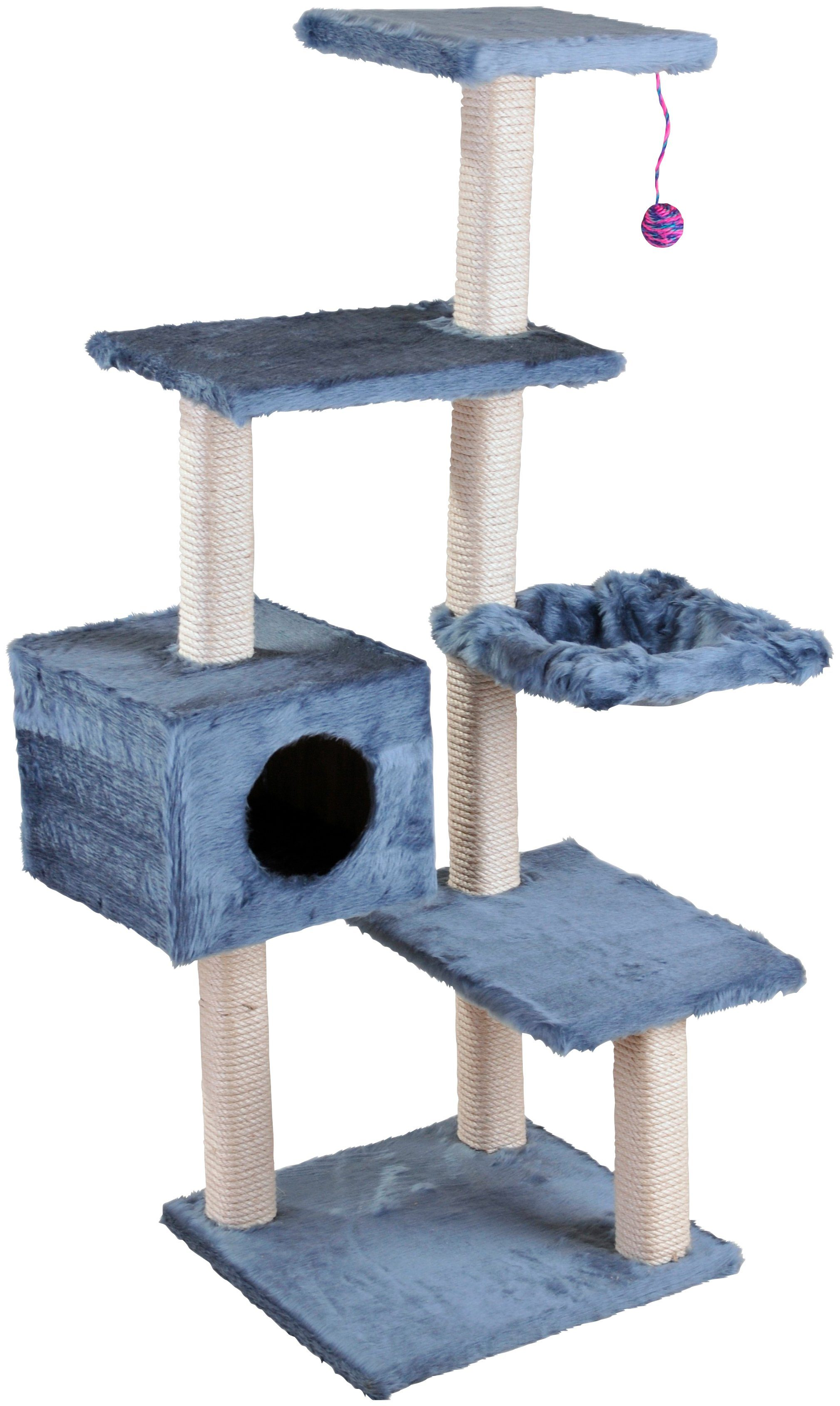 CAT DREAM Kratzbaum »Stufen-Kratzboy«, B/T/H: 70/45/130 cm, blau