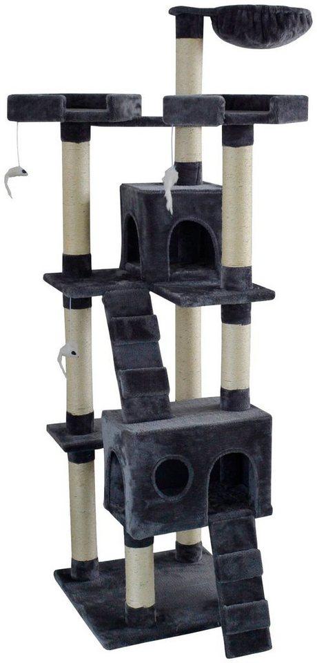Design Kratzbaum Aus Holz Und Wellpappe: SILVIO DESIGN Kratzbaum »Herkules«, B/T/H: 50/50/170 Cm