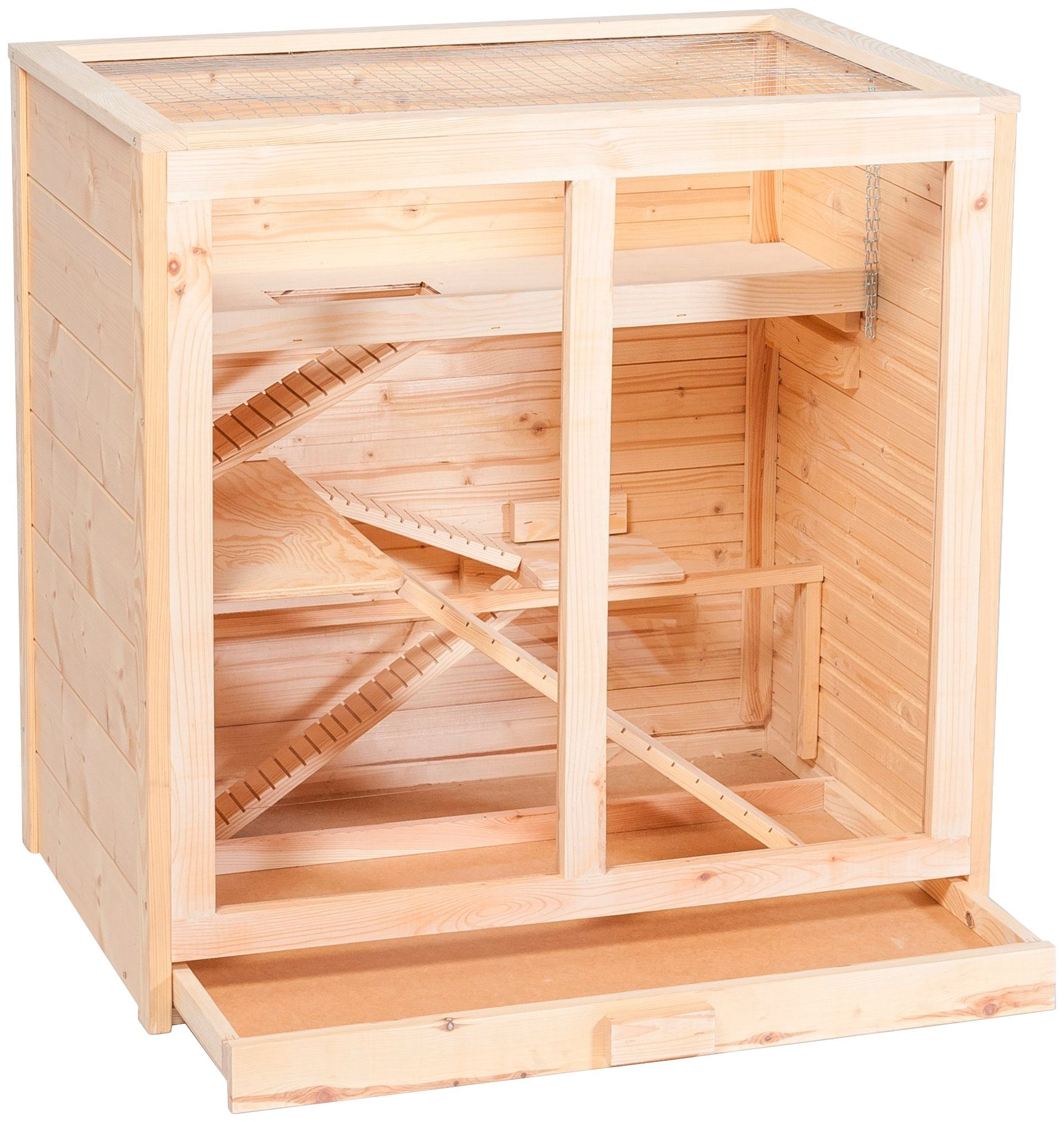SILVIO DESIGN Hamsterkäfig »Arni«, B/T/H: 80/53/80 cm