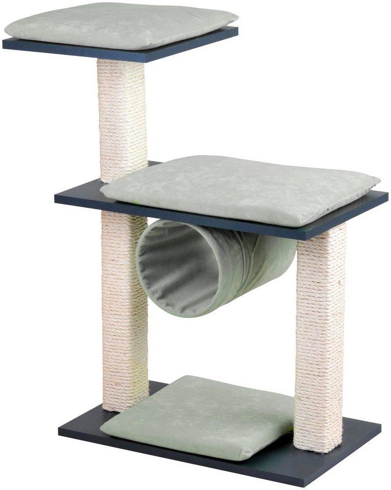 silvio design kratzbaum cosy b t h 80 36 86 cm anthrazit creme online kaufen otto. Black Bedroom Furniture Sets. Home Design Ideas