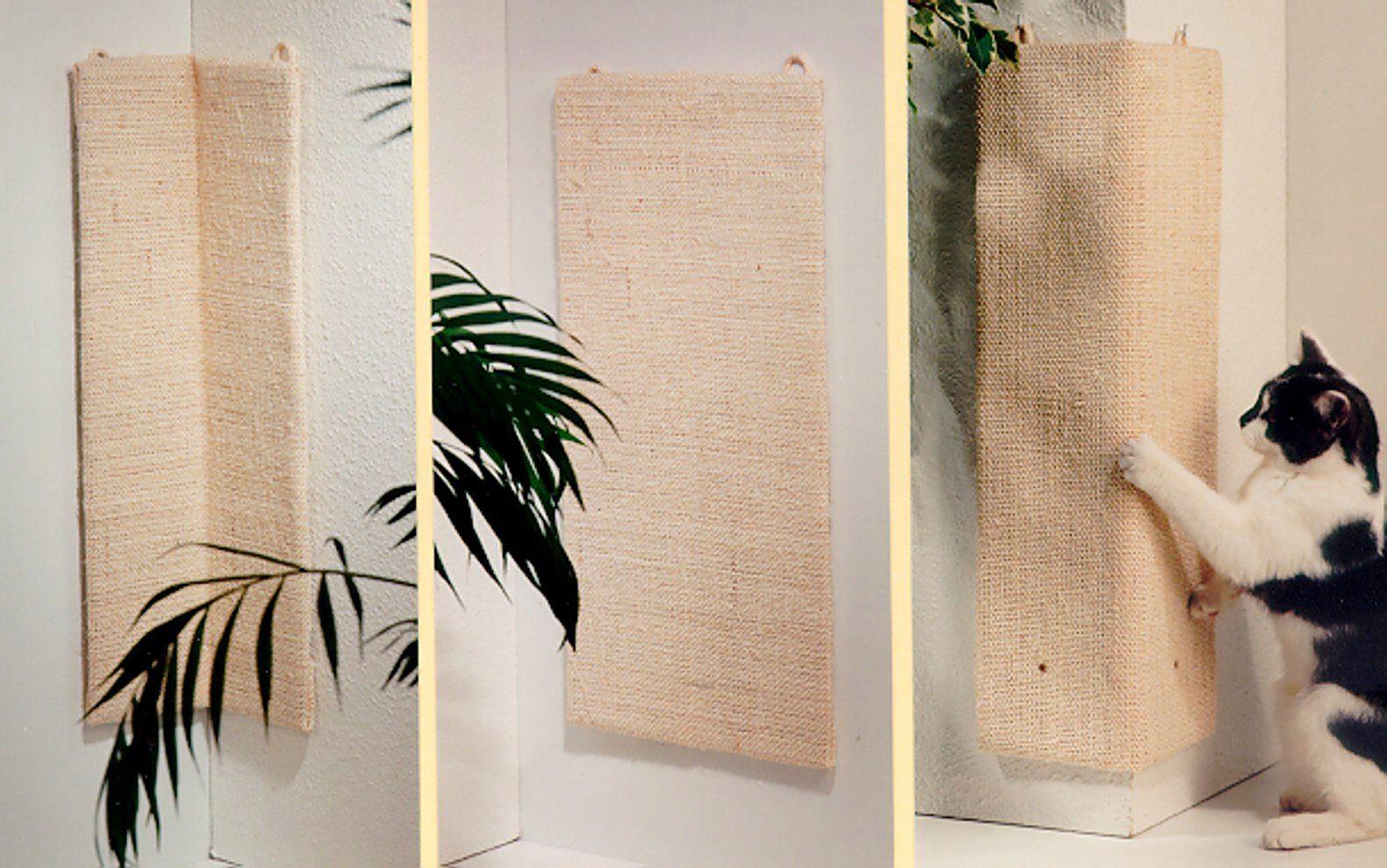 SILVIO DESIGN Kratzfläche »Kratzecke 100«, BxL: 50x100 cm, natur