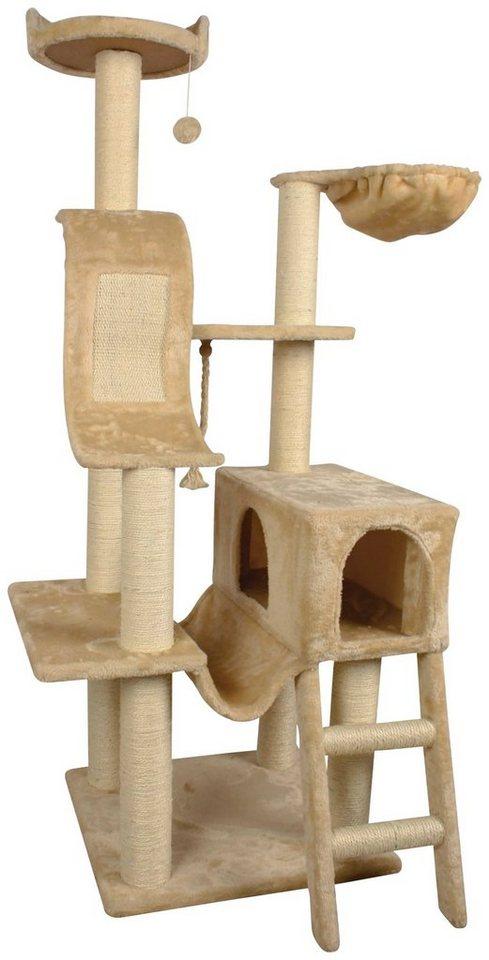 silvio design kratzbaum lena b t h 49 49 155 cm beige online kaufen otto. Black Bedroom Furniture Sets. Home Design Ideas