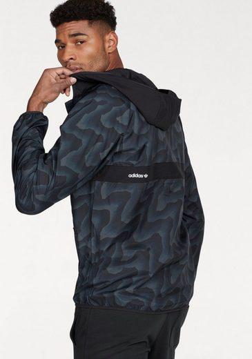 adidas Originals Windbreaker BB WARP WND JKT, Komplett mit Mesh gefüttert