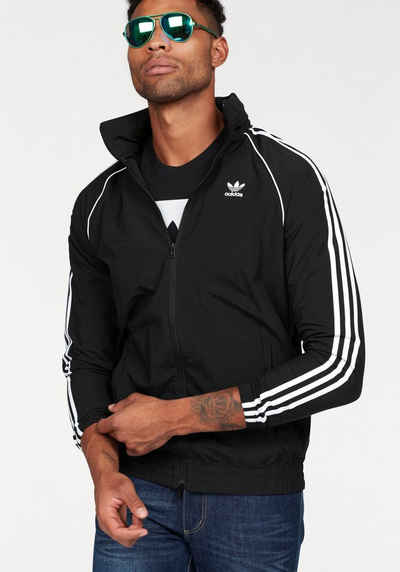 adidas Originals Windbreaker »SUPER STAR WINDBREAKER« Kapuze im Kragen  versteckt c823579c4c