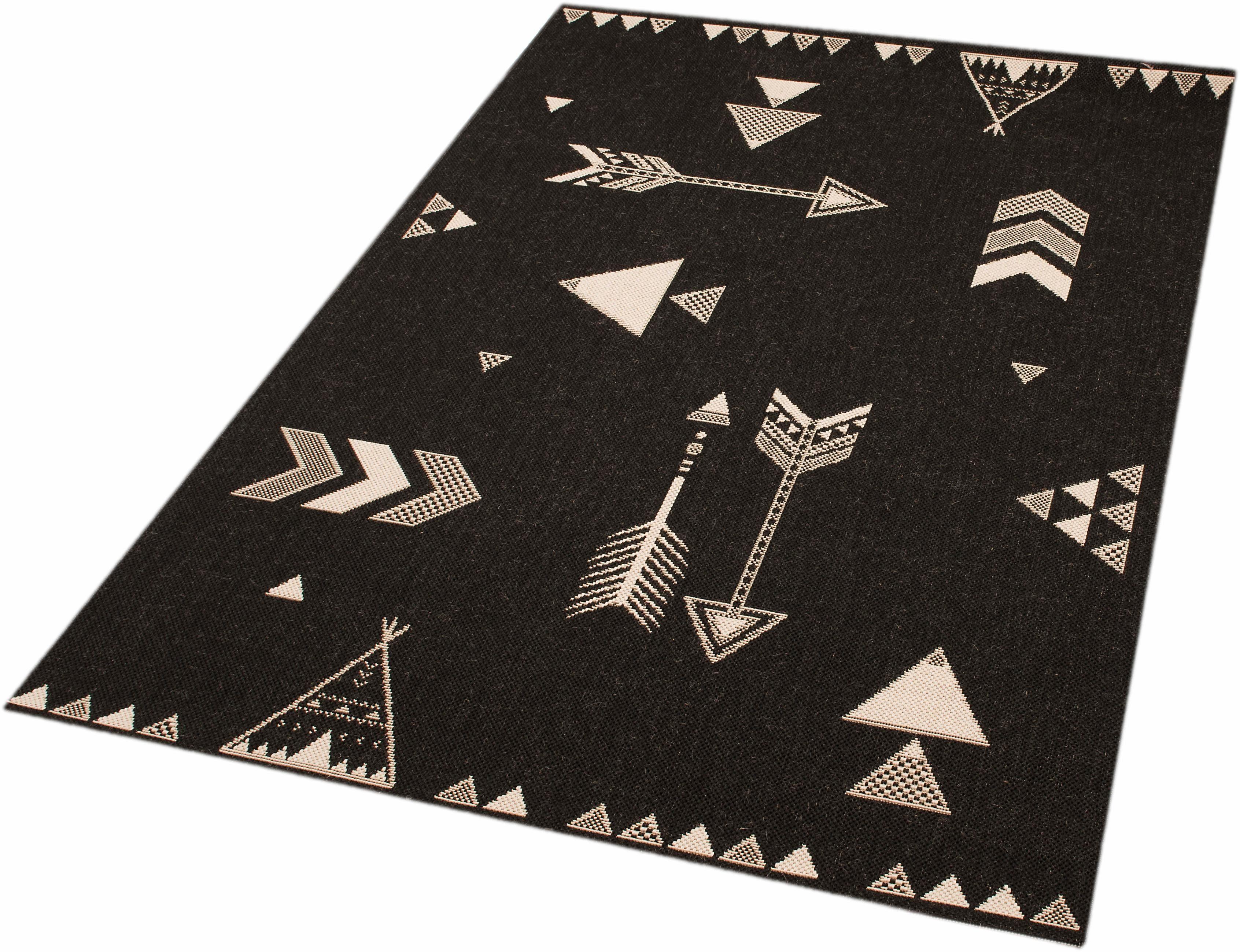 Teppich »Arrows Barney«, Zala Living, rechteckig, Höhe 4 mm