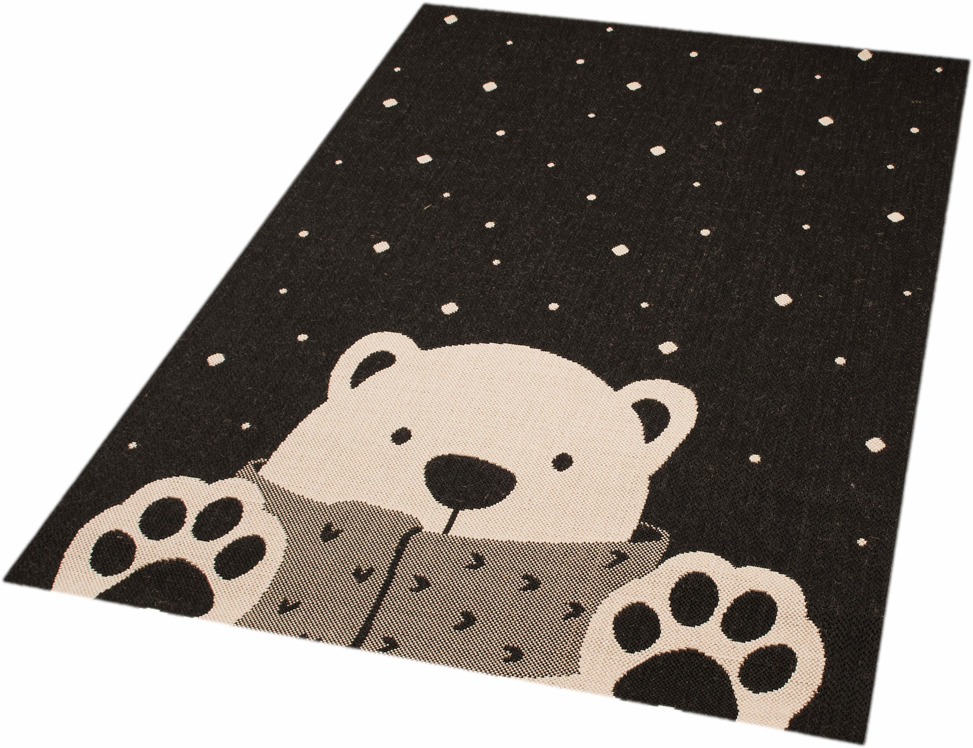 Kinderteppich »Icebear Stan«, Zala Living, rechteckig, Höhe 4 mm