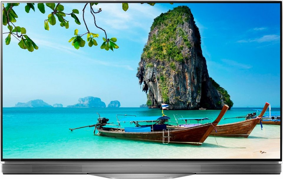 lg oled55e7n led fernseher 55 zoll 4k ultra hd smart tv online kaufen otto. Black Bedroom Furniture Sets. Home Design Ideas