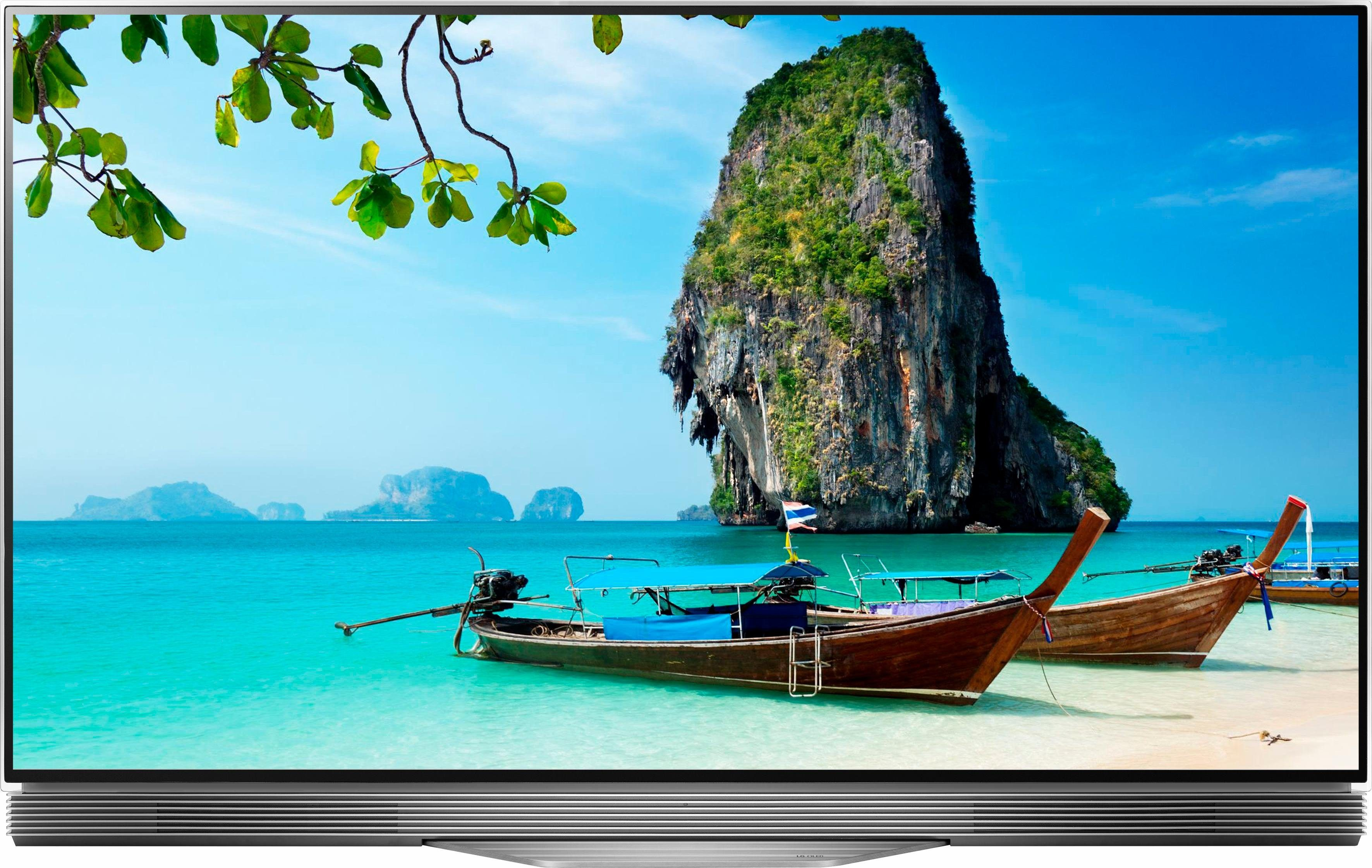 LG OLED55E7N LED-Fernseher (139 cm/55 Zoll, 4K Ultra HD, Smart-TV)