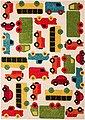 Kinderteppich »Cars Mason«, Zala Living, rechteckig, Höhe 8 mm, Spielteppich, besonders weich durch Microfaser, Bild 2