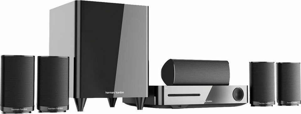 harman kardon bds 635 5 1 heimkinosystem 3d blu ray. Black Bedroom Furniture Sets. Home Design Ideas
