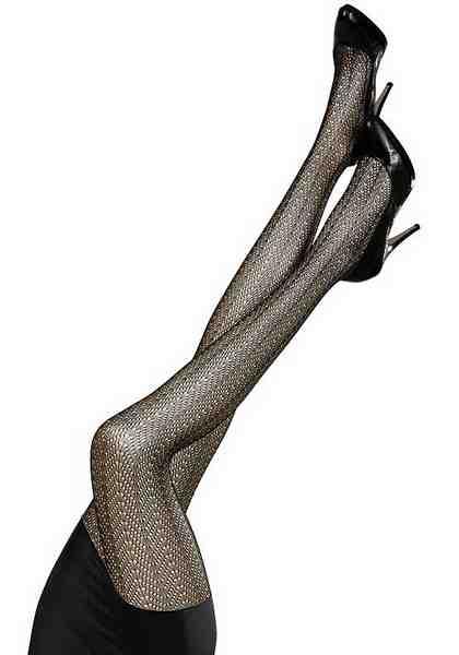 Sympatico Ajour Netzstrumpfhose in elegantem Muster