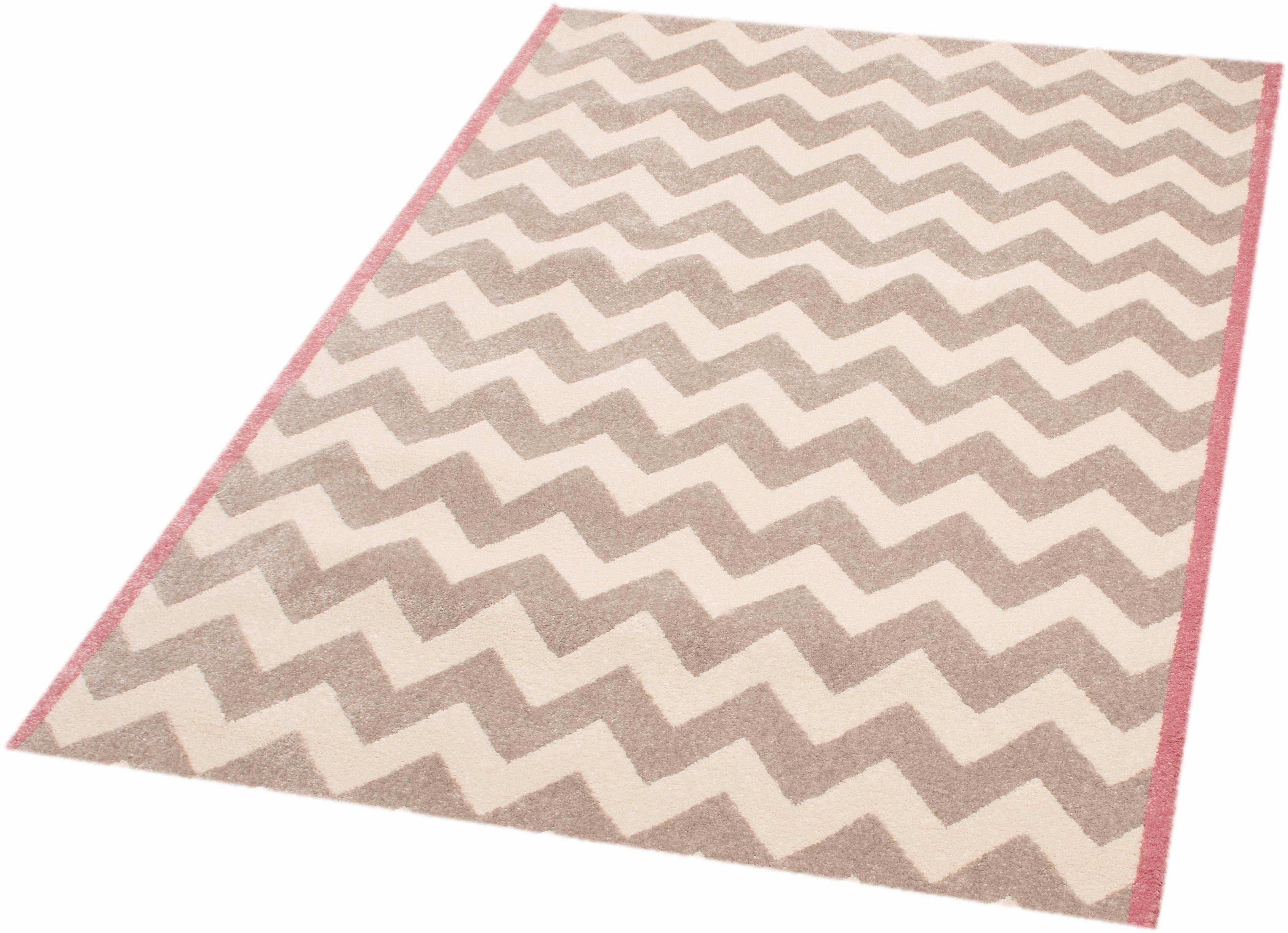Teppich »Zick Zack Suzy«, Zala Living, rechteckig, Höhe 11 mm