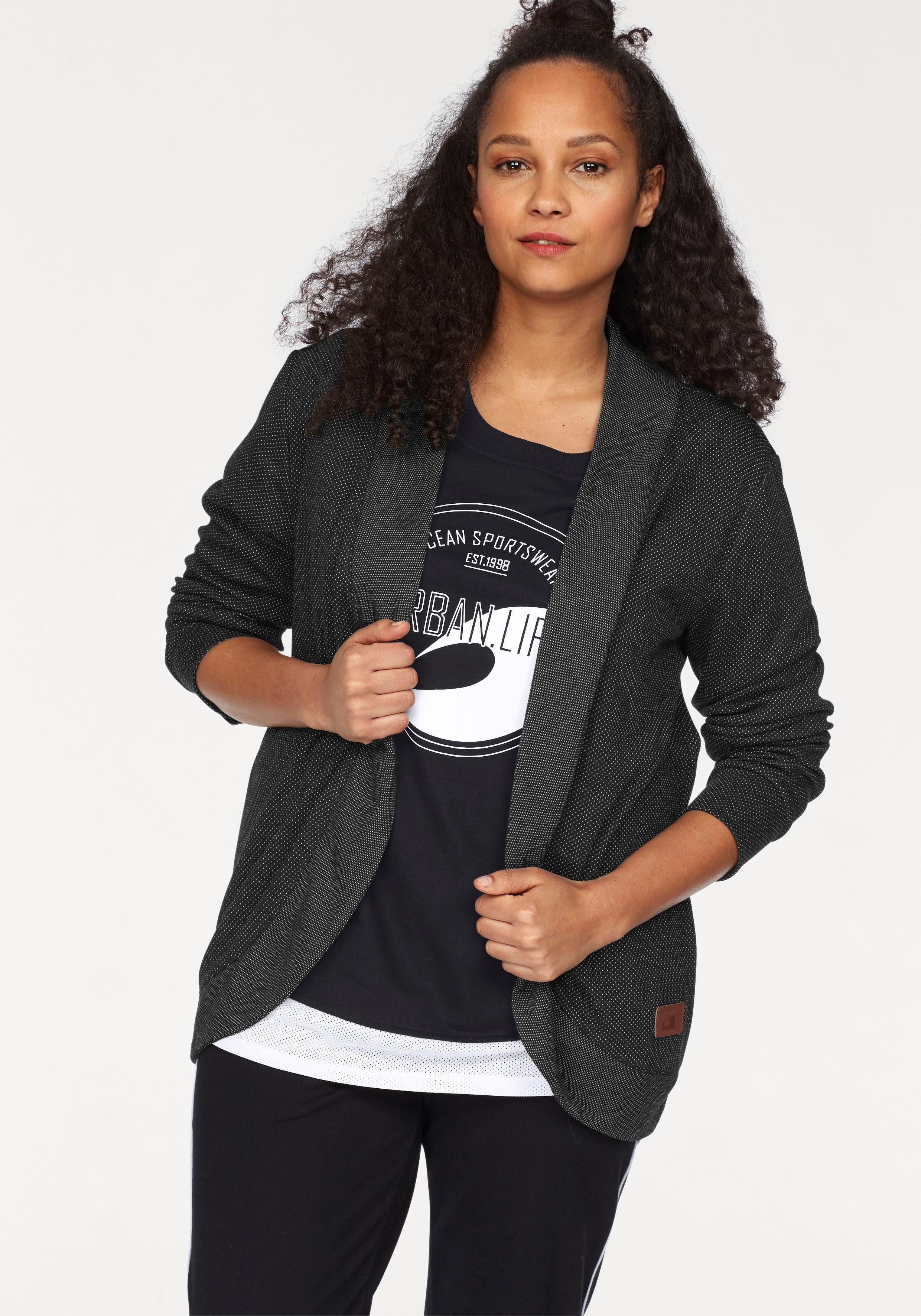 Sweatjacke schwarz Ocean Sportswear 4mM002q
