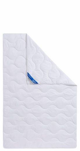 Kunstfaserbettdecke, »Hohenstein«, Wendre, leicht, Füllung: 100% Polyester (antibakteriell), Bezug: 100% Baumwolle, (1-tlg), mit antibakterielle Wirkung durch Aegis-Technologie