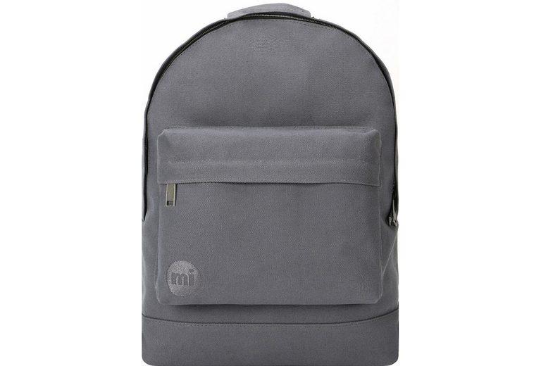 mi pac. Rucksack mit Laptopfach, Premium canvas, charcoal