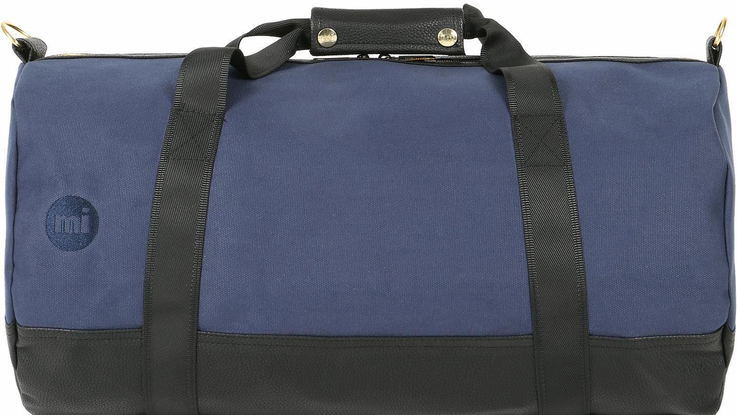 mi pac. Reisetasche, »Gold Duffle Bag canvas Tumbled, navy/black«